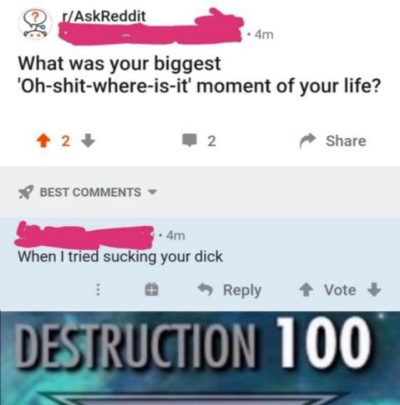 deSTrUcTioN 10o