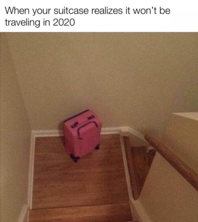 Poor suitcase