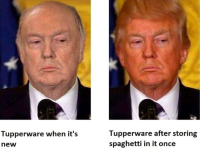 New vs Old tupperware
