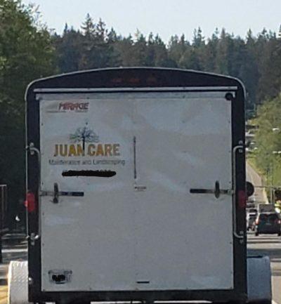 Time to trim my Juan.