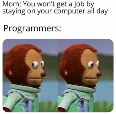 Programmers will know the importance of computer