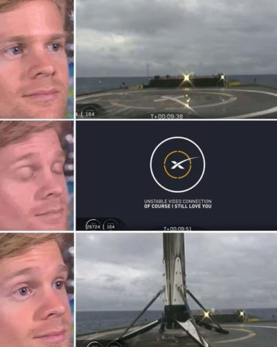 Falcon 9 landings in a nutshell