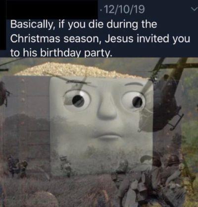 Haha Thomas funny