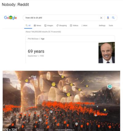 Nobody: Reddit