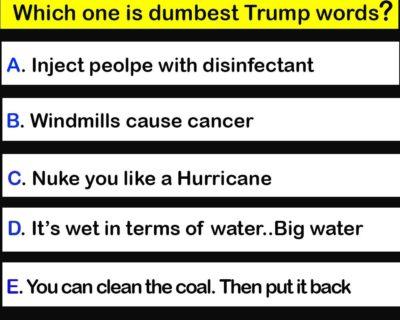 Dumbest Trumpism