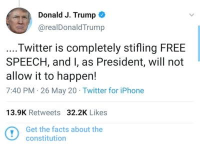 The fact check the president desperately needs on Twitter