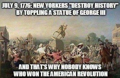 Stop erasing history!