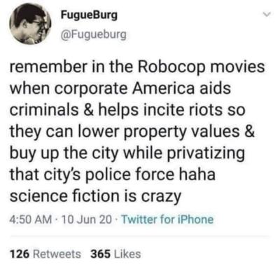 RoboCop's Allegory