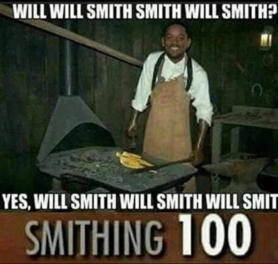 Will Will Smith Smith? Well..