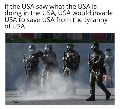 The irony