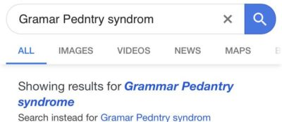Google has been diagnosed
