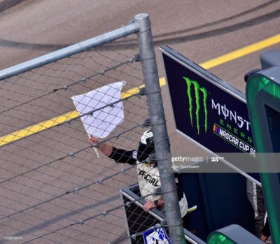 Strange that NASCAR claims to be banning the confederate flag yet they still use it in every single race