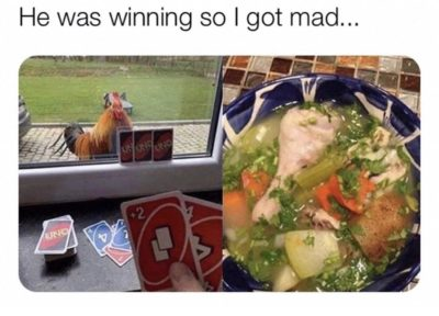 Winner winner chicken dinner.