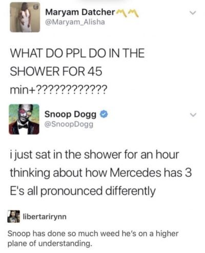 What is it with Snoop Dogg and most epic captions?