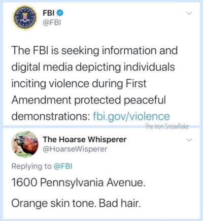 Helping FBI