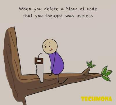 That Useless code of Block hurts most sometimes