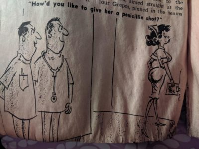 Authentic genuine 1964 boomer humor found in a men's magazine in a secret wall stash