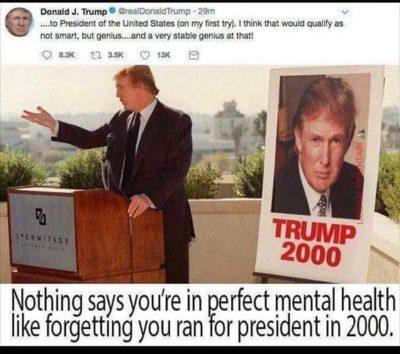 He has a BIG BRAIN! A big, smooth brain.