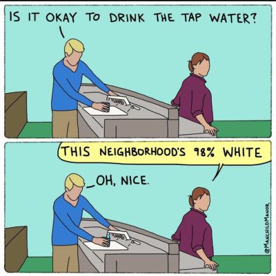 Is it ok to drink the tap water? From Manchildmanor