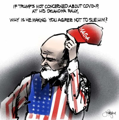 Asking Trump supporters…