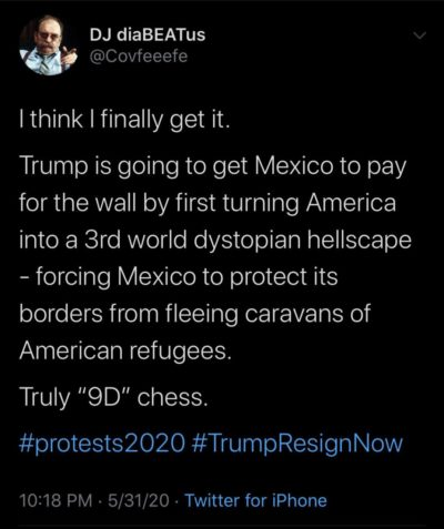 Mexico may end up paying for that wall after all….