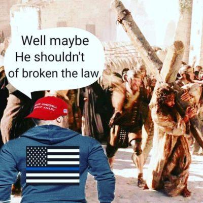 He shouldn't of broken the law