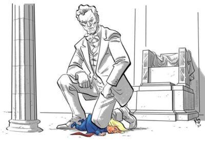 Hopefully, Lincoln represents the vote in November.