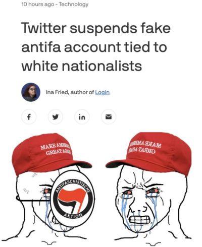And the KKK still isn't classified as a terrorist organization