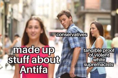 ANTIFA is everywhere!