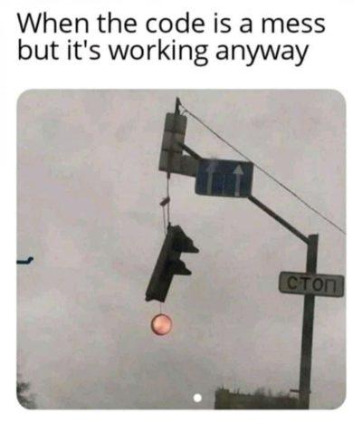Atleast it works.