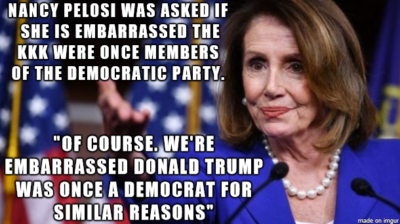 "Nancy ""Burn This Motherfucker Down"" Pelosi"