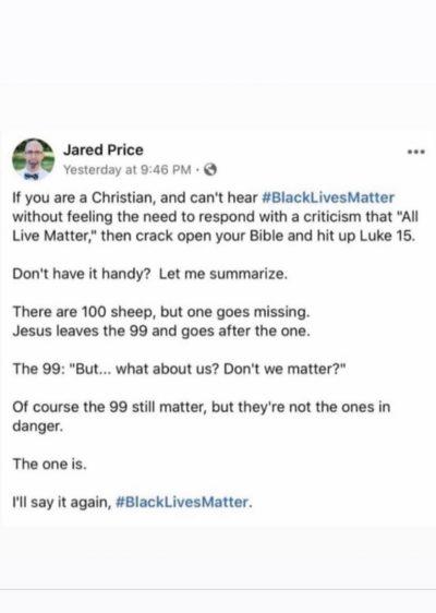 """""""But… all lives matter"""""""