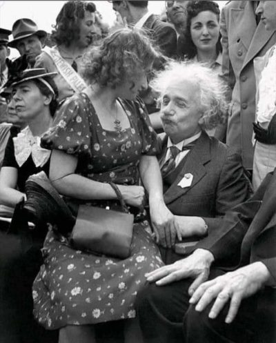 When albert realized that there is more to life than physics