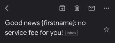 Hi, my name is {firstname}