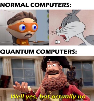 Qubits be efficient tho