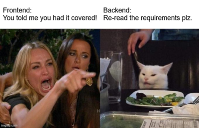 Frontend dev VS backend dev