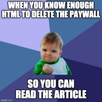 When news websites make the paywall client side