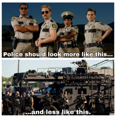 """When we say """"Defund the Police."""""""