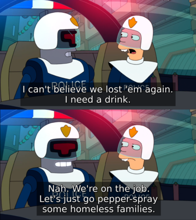 Futurama being real