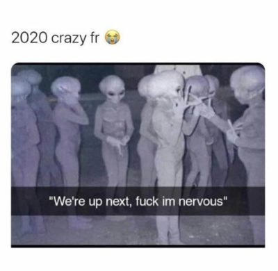 2020 is out of this world