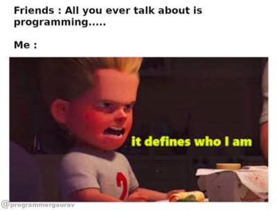 It Defines me