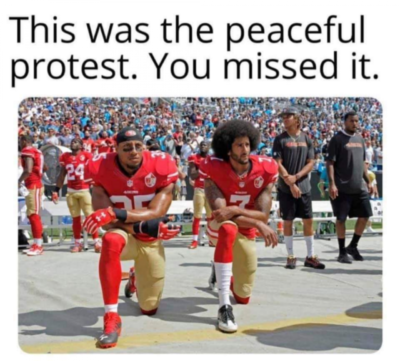 WhY cAn'T yOu PrOtEsT pEaCeFuLlY as if no one had tried that