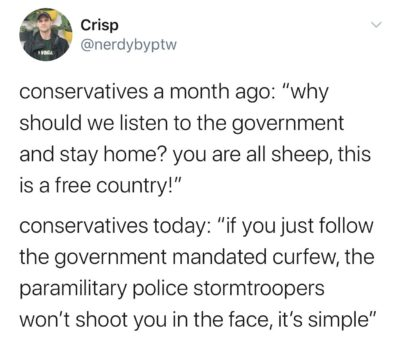 Sheeple to anarchists