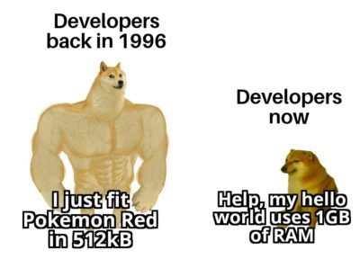 No offense to any developers here