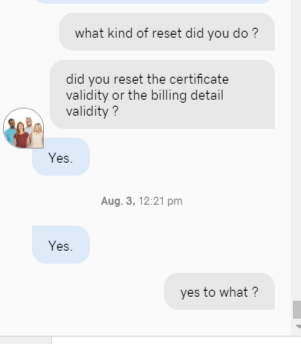 Reddit culture is leaking on Godaddy Support