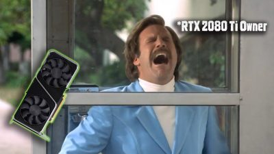 RTX 2080 Ti Owner's reaction to the reveal of Nvidia RTX 3070 (Featuring Ron Burgundy)!