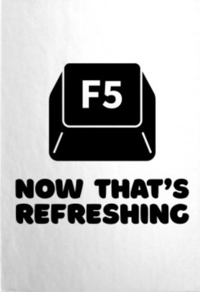 Gets me every time #refreshing hotkey even works in modern PLC Controllers