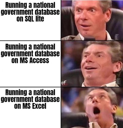 How to build a national database